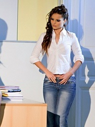 X-rated Claudia Rossi gets screwed unmitigatedly..