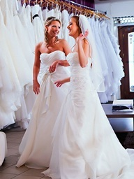Babes hasten shopping be required of a bridal raiment..