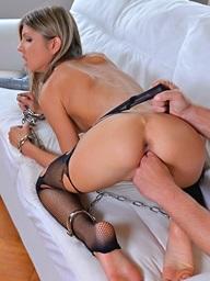 , Gina upon reins