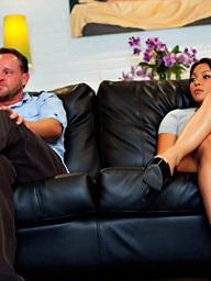 Adrianna Luna and Alec Knight, Penthouse.com Photo..