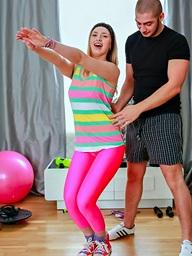 Milana Fox, The hot fist leggings..