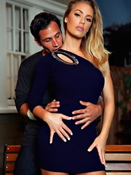 Nicole Aniston and Alan Stafford, Penthouse.com Photo..